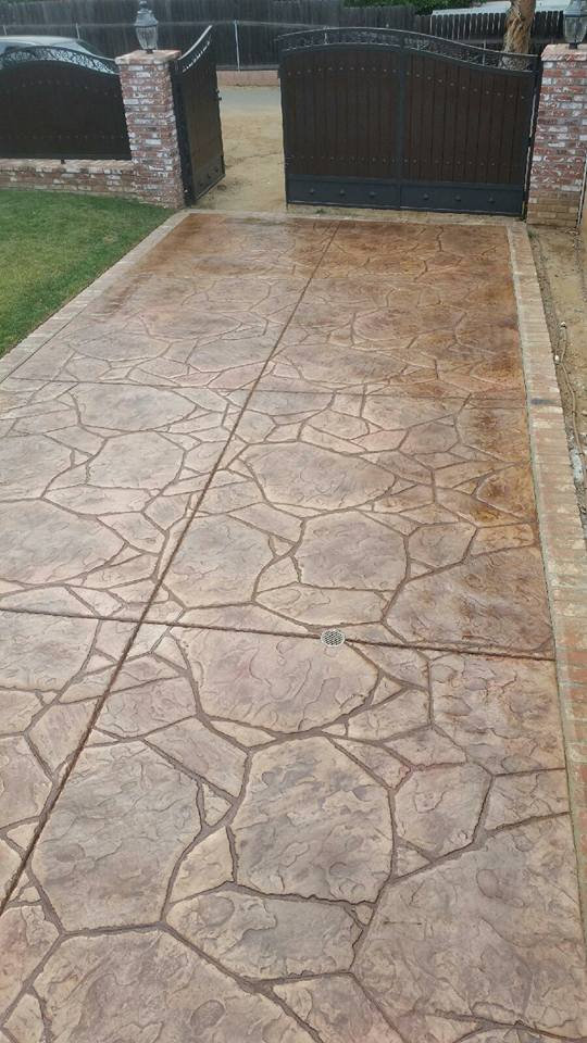 Decorative Colored Concrete Contractor Lakeside Ca, Stamped Concrete Contractors in Lakeside