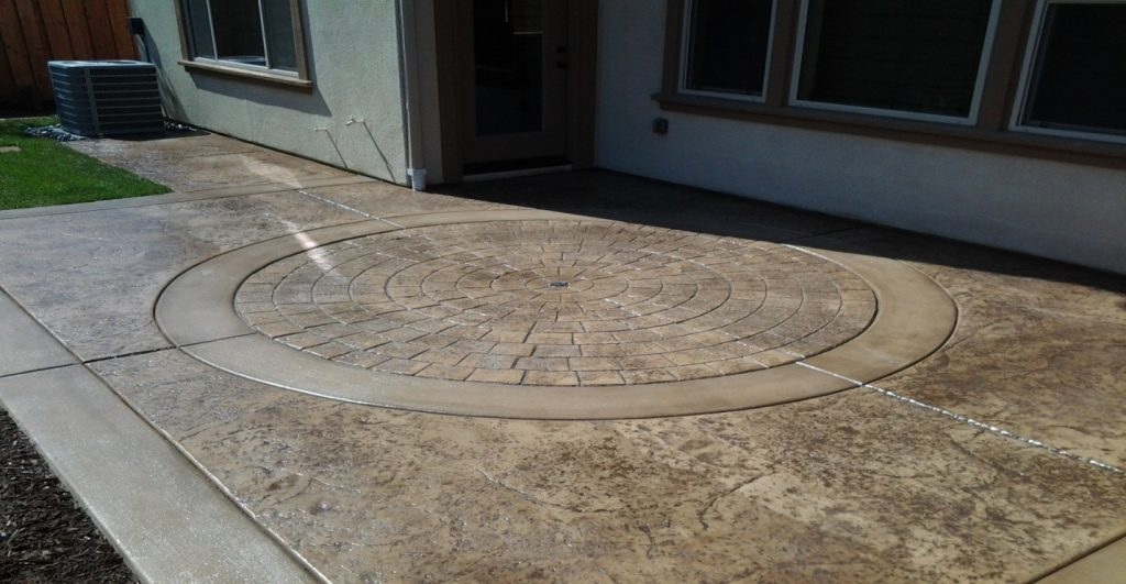 Stamped Concrete Driveway Contractor Lakeside, Decorative Concrete Lakeside