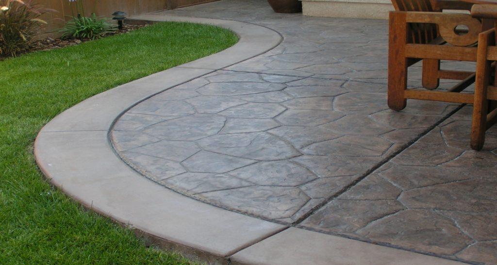 Stamped Concrete Contractor in Lakeside, Decorative Concrete Company Lakeside