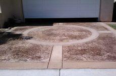Stamped Driveway Concrete Contractor Lakeside, Decorative Concrete Company Lakeside Ca